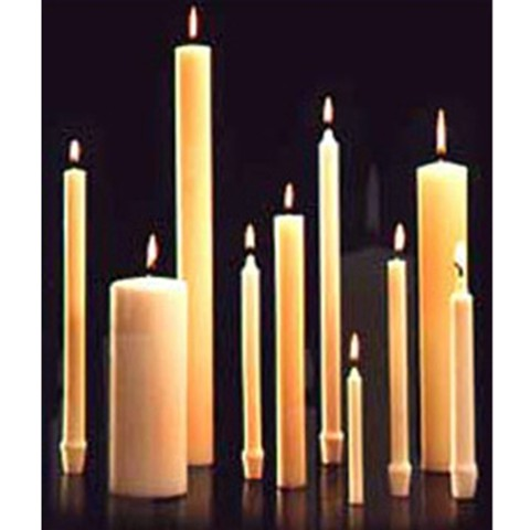 Church Candles Altar Candles 51 Beeswax Catholic