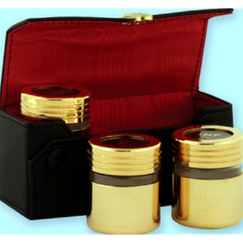 Oil Stock Set with 24k Gold Plating